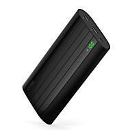 abordables Baterías Externas-20000mAh banco de la energía de la batería externa 5V 1.0A 2.0AA Cargador de batería Multisalida Superslim Corriente con Ajuste Automático