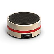 billige Højtalere-Mini super bas Support Hukommelseskort Indbygget Mikrofon Bluetooth 3.0 Trådløs Bluetooth-højttalere Guld Sort Sølv