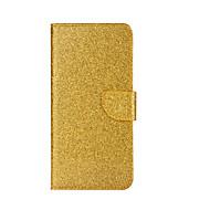 Case Kompatibilitás Samsung Galaxy J5 (2017) J3 (2017) Kártyatartó Pénztárca Állvánnyal Flip Teljes védelem Csillogó Kemény Műbőr Bőr mert