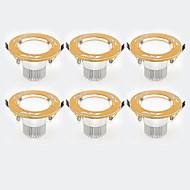 cheap -6Pcs Yangming3W 30006000K Warm White Cool White LED Canister Light (85-265V)  007