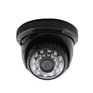 halpa -yanse® CCTV kotiin valvonta 3.6mm objektiivi IR Cut Dome valvontakamera 24kpl infrapuna ledien musta