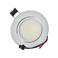 abordables Luces LED Empotradas-9W 820lm 2G11 Luces LED Descendentes Luces Empotradas 1 Cuentas LED COB Decorativa Blanco Cálido / Blanco Fresco 85-265V