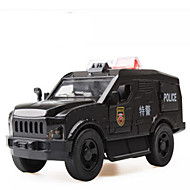 cheap Toys & Hobbies-Toy Cars Toys Construction Vehicle Police car Toys Square Horse Metal Alloy Plastic Pieces Gift