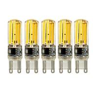 4W E14 G9 G4 2-pins LED-lampen T 4 leds COB Dimbaar Warm wit Wit 450lm 2700 6000K AC 220-240V