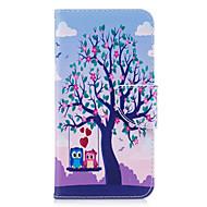 Для huawei p10 lite p8 lite (2017) телефон чехол pu кожаный материал две совы узор окрашены p10 p9 lite p9 y5 ii честь 6x