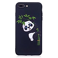 halpa iPhone kotelot-iphone 7 plus 6 plus 6s har 5s 5 suojus Panda kuvio helpotusta takakansi pehmeä tpu