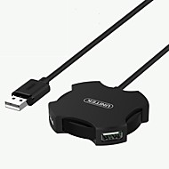 preiswerte USB Hubs & Switches-4 USB-Hub USB 2.0 USB 2.0 Mit Wire Mangement Daten-Hub