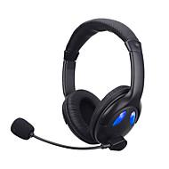 저렴한 -soyto sy760mv 빛나는 헤드폰 스테레오 게임 헤드폰 유선 된 헤드셋 auriculares 접이식 이어폰 audifonos와 마이크 pc와 휴대 전화