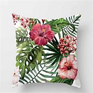 1kpl muoti trooppinen kasvi sohva tyyny persikan iho tyynynpäällinen