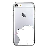 Назначение iPhone X iPhone 8 Чехлы панели С узором Задняя крышка Кейс для Животное Мультипликация Мягкий Термопластик для Apple iPhone X