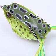 お買い得  釣り用アクセサリー-1 個 カエル プラスチック ベイトキャスティング