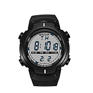 billige -SANDA Herre Sportsklokke Militærklokke Smartklokke Moteklokke Armbåndsur Japansk DigitalLED Pedometer Treningsmålere Stoppeklokke