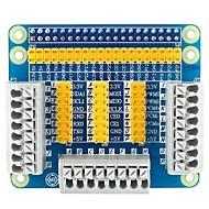 お買い得  Arduino 用アクセサリー-ラズベリーパイ3用多機能gpio拡張シールドアダプタボード