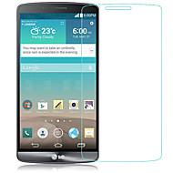 お買い得  スクリーンプロテクター-スクリーンプロテクター のために LG 強化ガラス 1枚 スクリーンプロテクター ハイディフィニション(HD) / 硬度9H