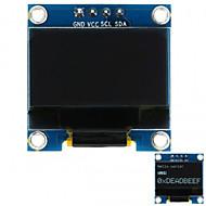 tanie Akcesroia Arduino-0.96 Interfejs 128x64 i2c biały kolorowy moduł wyświetlacza dla arduino
