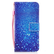 Для samsung galaxy s8 s8 плюс чехол покрытие мрамор синий песок узор окрашенный pu кожа материал карта стент кошелек телефон корпус s7 s7