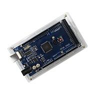 povoljno -zaštitna akril slučaj za Arduino mega 2560 R3 - prozirna