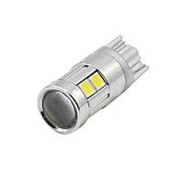 Недорогие Внешние огни для авто-SO.K 4шт T10 Автомобиль Лампы 3 W SMD 5050 200 lm Светодиодная лампа Лампа поворотного сигнала For Универсальный