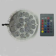 voordelige -12W 900lm E27 Groeiende gloeilamp 18 LED-kralen Krachtige LED RGB 85-265V