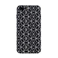 iphone 7 ja 7 suojus kuvio takakansi tapauksessa geometrinen kuvio laatta linjat / aallot pehmeä tpu iPhone 6s plus 6plus 6 6s 5s SE 5