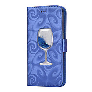 Недорогие Чехлы и кейсы для Galaxy S8-Кейс для Назначение SSamsung Galaxy S8 Plus / S8 Кошелек / Бумажник для карт / со стендом Чехол Однотонный Твердый Кожа PU для S8 Plus / S8 / S7 edge