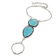 Női Gyűrű karkötők Bohemia stílus jelmez ékszerek Ötvözet Circle Shape Ékszerek Kompatibilitás Hétköznapi