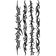 타투 스티커 Totem Series 패턴 허리 아래 Waterproof여성 남성 Teen 플래시 문신 임시 문신