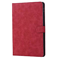 For eple ipad 9,7 tommers 2017 veske deksel ekte lær tabletter folding magnet flip deksel for iPad air 1 2 ipad 4 mini3 mini4