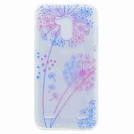 Til zte v7 v7 lite case cover gennemsigtigt mønster bag cover case mælkebøtte blødt tpu til zte blade a452