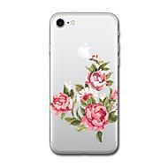 Назначение iPhone X iPhone 8 Чехлы панели С узором Задняя крышка Кейс для Мультипликация Цветы Мягкий Термопластик для Apple iPhone X