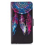 Недорогие Чехлы и кейсы для Galaxy S6 Edge Plus-Кейс для Назначение SSamsung Galaxy S8 Plus S8 Бумажник для карт Кошелек со стендом Флип Чехол Ловец снов Твердый Кожа PU для S8 Plus S8
