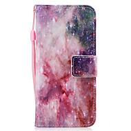 Для samsung galaxy s8 s8 плюс корпус крышка звезды узор окрашенный pu кожа материал карта стент кошелек телефон корпус s7 s7 край