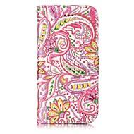 Назначение iPhone X iPhone 8 Чехлы панели Бумажник для карт Кошелек со стендом Флип Рельефный С узором Магнитный Чехол Кейс для Цветы