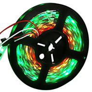 お買い得  -HKV フレキシブルLEDライトストリップ 300 LED RGB カット可能 変色 ノンテープ・タイプ DC 12V