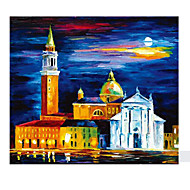 cheap Toys & Hobbies-Jigsaw Puzzle Castle Famous buildings Moon Architecture Wooden Wood 6 Years Old and Above
