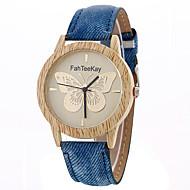 tanie Zegarki sportowe-Damskie Kwarcowy Zegarek na nadgarstek Sportowy Na codzień Stop Pasmo Urok Luksusowy Twórczy Na co dzień Unikalny twórczy zegarek