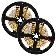80 W Ευέλικτες LED Φωτολωρίδες 7650-7750 lm DC12 V 10 m 300 leds Θερμό Λευκό Λευκό