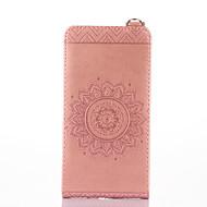 preiswerte Handyhüllen-Hülle Für Nokia Lumia 630 Nokia Lumia 650 Nokia Lumia 640 Nokia Kreditkartenfächer mit Halterung Flipbare Hülle Geprägt Ganzkörper-Gehäuse