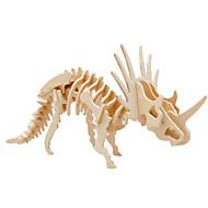 voordelige Speelgoed & Hobby-Muwanzi 3D-puzzels Legpuzzel Houten modellen Dinosaurus Vliegtuig Beroemd gebouw Architectuur 3D DHZ Hout Klassiek Unisex Geschenk