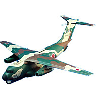 billige Legetøj og hobby-3D-puslespil Papirmodel Legetøj Luftfartøj Fighter 3D GDS Simulering Ikke specificeret Unisex Stk.