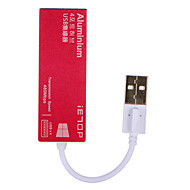 billige -IETOP 4 porter USB-hub USB 2.0 Inngangsvern Data Hub