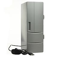 Bærbar mini usb pc bærbar kjøleskap kjøler mini usb pc kjøleskap varmere kjøligere drikke drikke bokser fryser
