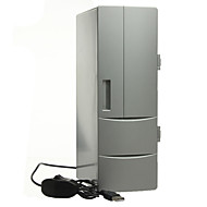 Draagbare mini usb pc laptop koelkast koeler mini usb pc koelkast warmer koeler drankdrank blikjes vriezer