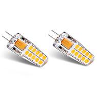 halpa LED Bi-Pin lamput-3W G4 LED Bi-Pin lamput T 20 ledit SMD 2835 Lämmin valkoinen Valkoinen 300lm 3000-3500   6000-6500