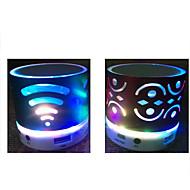 hesapli Hoparlörler-Bluetooth 2.0 3.5mm LED Koyu Mavi Mor Sarı Fuşya