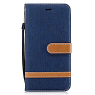 For Samsung Galaxy J5 (2016) J3 Case Cover Card Holder Wallet with Stand Flip Full Body Case Solid Color Hard PU Leather for Galaxy J3 (2016)
