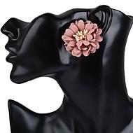 Жен. Застежка серег Серьги-гвоздики Серьги Цветочный дизайн Цветы Цветочный принт Мода Богемия Стиль Резина В форме цветка Бижутерия