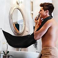 voordelige Badkamergadgets-schort zwart baard schort haarscheer schort voor man waterdicht bloemendoek huishoudelijke schoonmaak beschermer