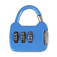 abordables Candados Mecánicos-Otros de aleación de cinc contraseña candado 3 dígitos contraseña portátil pequeña contraseña de bloqueo mini bolsa de bloqueo de metal