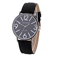 abordables Relojes de Moda-Mujer Reloj Casual Reloj Deportivo Reloj de Moda Cuarzo Creativo Cool Piel Tejido Banda Analógico Encanto Lujo Casual Negro - Negro
